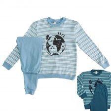 Unisex pajamas in organic cotton.