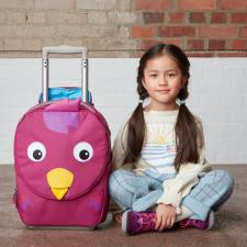 Valigia Trolley Bella Bird per bambini in Pet riciclato Equosolidale