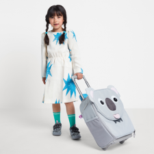 Valigia Trolley Karla Koala per bambini in Pet riciclato Equosolidale