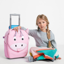 Valigia Trolley Ulrike Unicorno per bambini in Pet riciclato Equosolidale