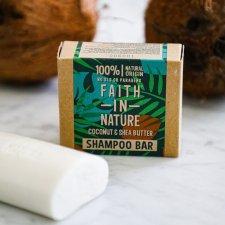 Vegan solid shampoo Coconut & Shea Butter plastic free