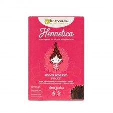Vegetal and organic Hair dye - Mahogany color