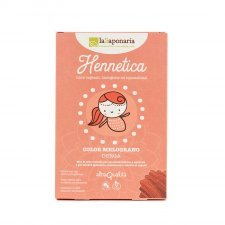 Vegetal and organic Hair dye - pomegranate  color