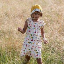 Vestito Apple Trees per bambine in puro Cotone Biologico Fairtrade
