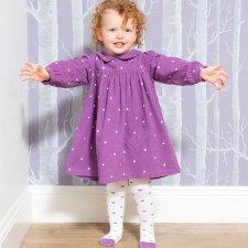 Vestito bambina Little Heart in cotone biologico