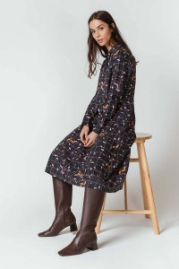 Vestito BERATZA da donna in Cotone biologico ed Ecovero