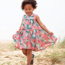 Vestito Chameleon Per Bambina in Cotone Biologico