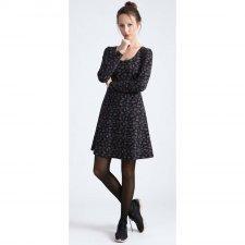 Vestito Linsell nero in cotone biologico
