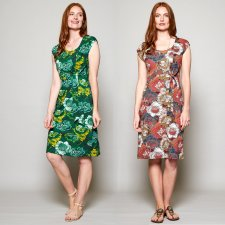 Vestito Donna Petal in Cotone Biologico