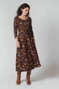 Vestito ESPE FANTASIA da donna in cotone biologico Fairtrade