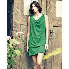 Vestito Leticia in canapa e cotone bio