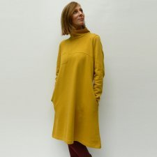 Vestito Warm in felpa di cotone biologico equo-solidale