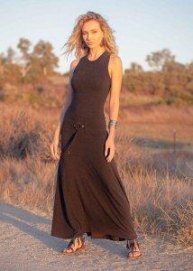 Vestito Thalia da donna in Bamboo e Cotone Biologico