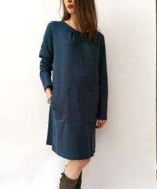 Vestito Reham in felpa di cotone biologico equo-solidale