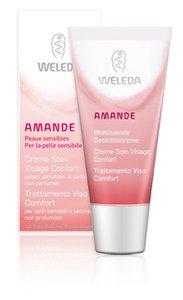 Weleda Amande - Crema viso comfort - pelli secche e sensibili