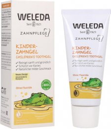 Dentifricio per bambini in gel Weleda