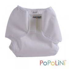 White pants diaper cover PopoWrap