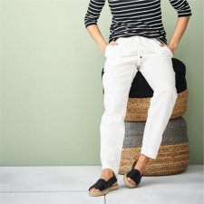 Organic liner woman trousers