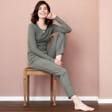 Woman pyjama Fanny in organic cotton