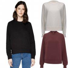 Woman raglan sweatshirt in organic cotton