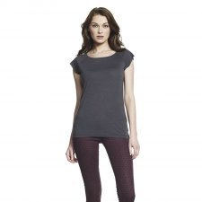 T-shirt raglan woman in bamboo