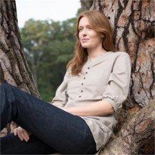 Organic woman linen tunic