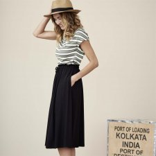 Women's skirt Issy in organic cotton and bamboo
