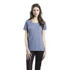 T-shirt melange woman in organic cotton
