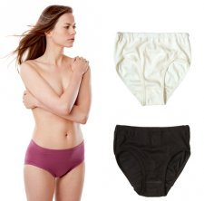Woman waist slip in organic cotton