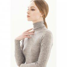 Wonderwool turtleneck sweater in soft merino wool