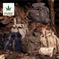 XL back-pack in hemp