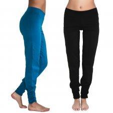 Yoga pants in organic cotton Leela Cotton