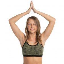 Yoga Top Bra in organic cotton