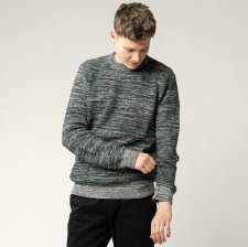 MAGESH rib knit pullover for men in Fairtrade Organic Cotton