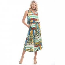 Malaga jumpsuit in sustainable rayon