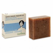 Cosmetic soap exfoliating and softening