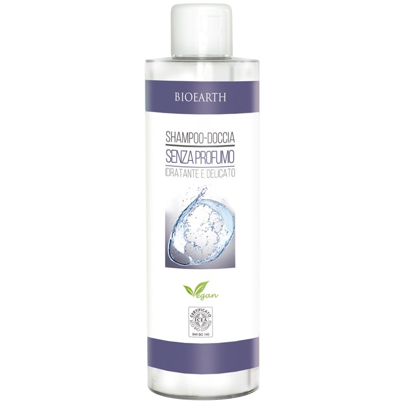 Shampoo and shower gel fragrance free