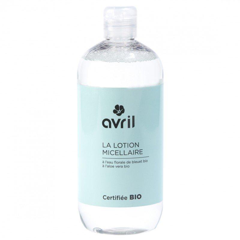 Lozione micellare all'aloe vera biologica Avril