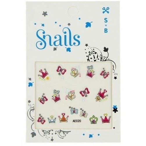 Adesivi per unghie Snails Princess