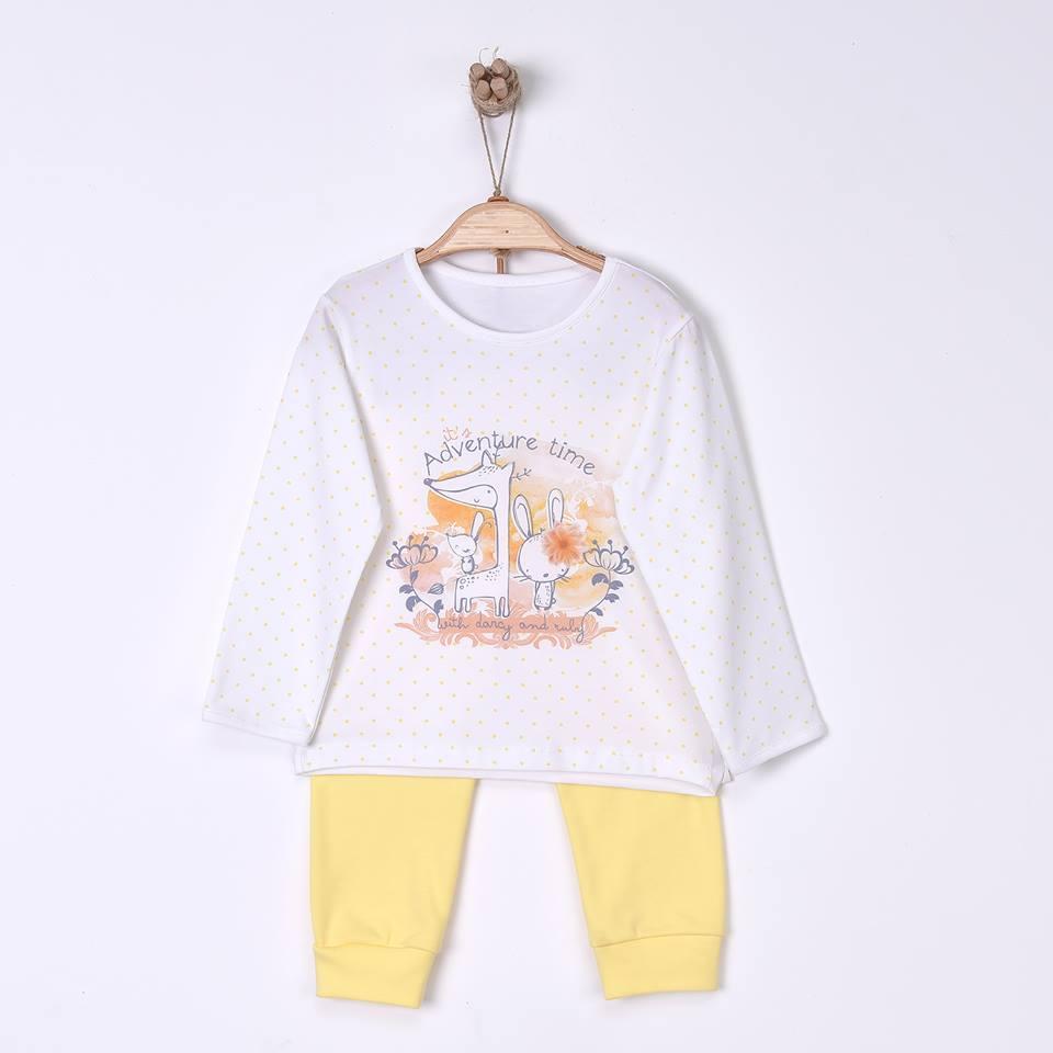 Adventure Time Children's Organic Cotton Pajamas