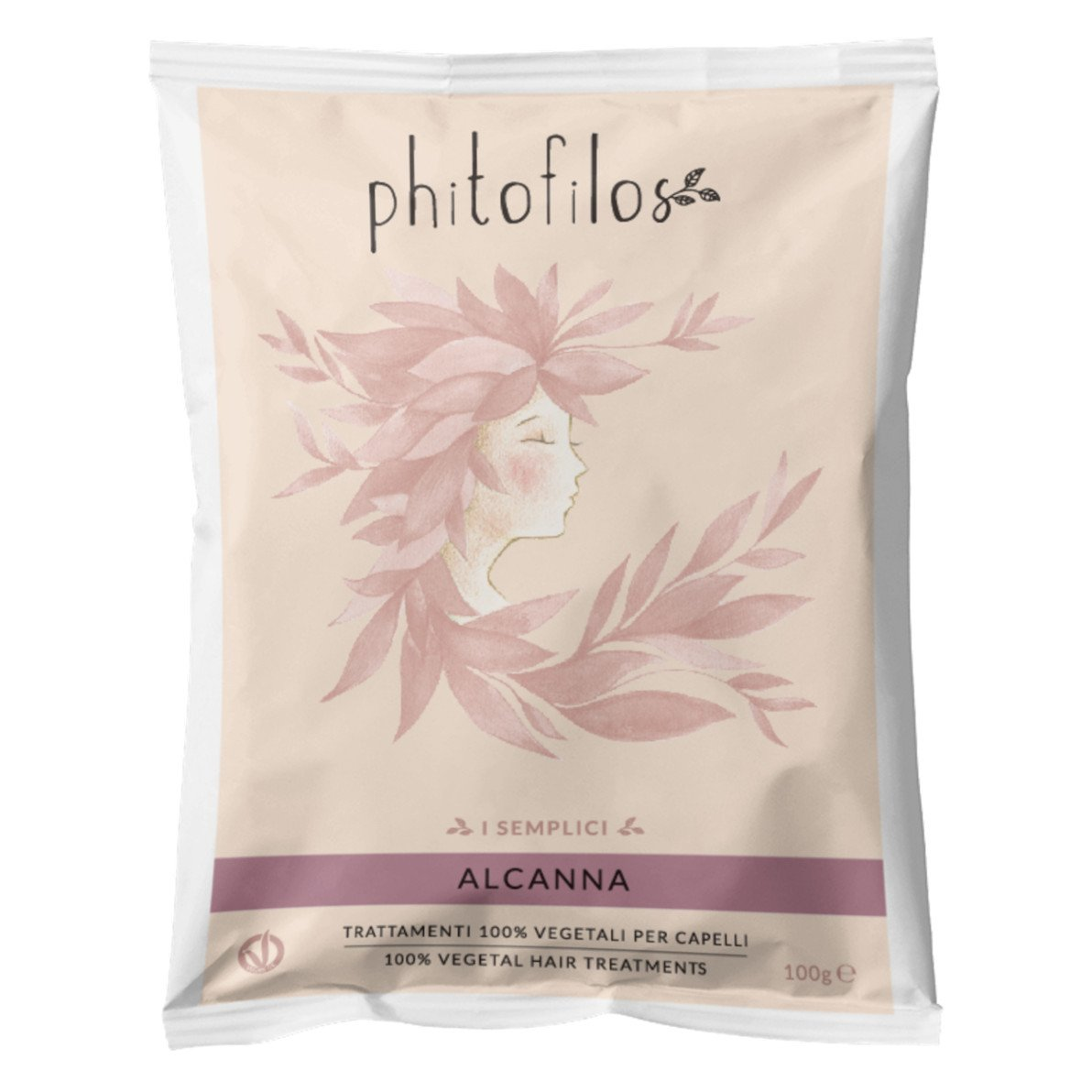 Alcanna Powder Natural Hair Dye Phitofilos