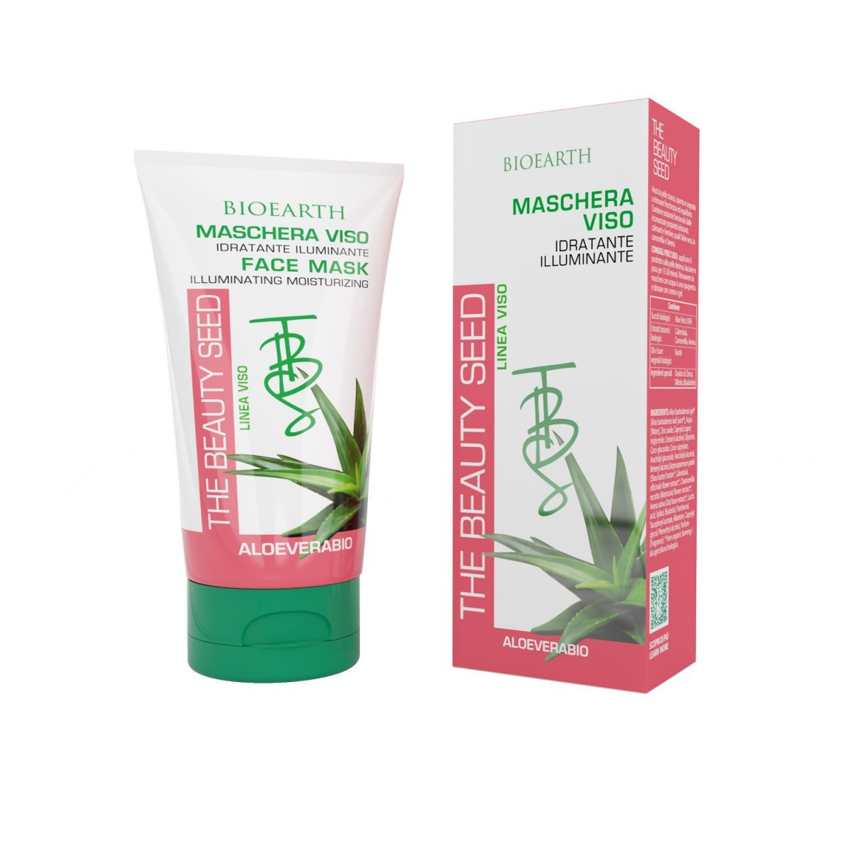 The Beauty Seed Face mask illuminating moisturizing