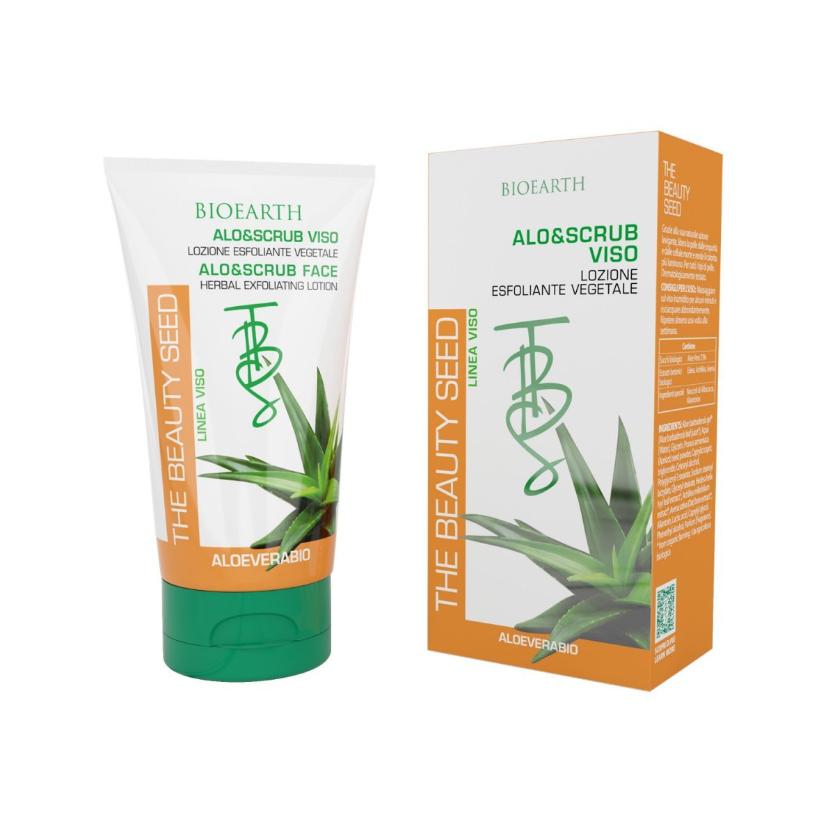 The Beauty Seed Aloe scrub exfoliating lotion