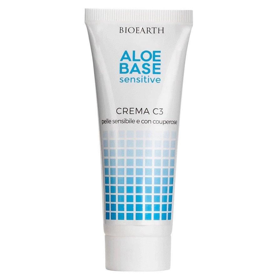 AloeBase Cream C3 for sensitive and couperose skin