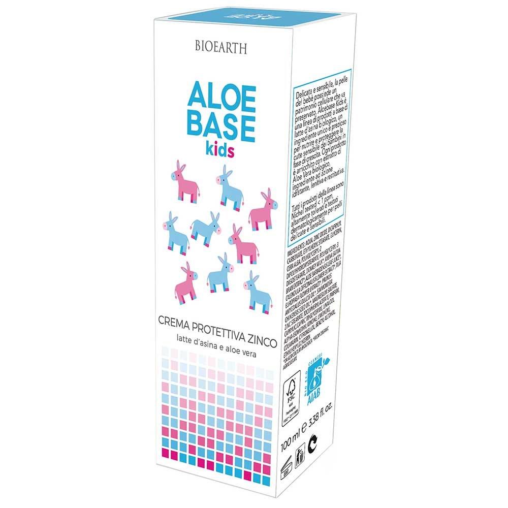 AloeBase Kids Crema Protettiva all'ossido di Zinco