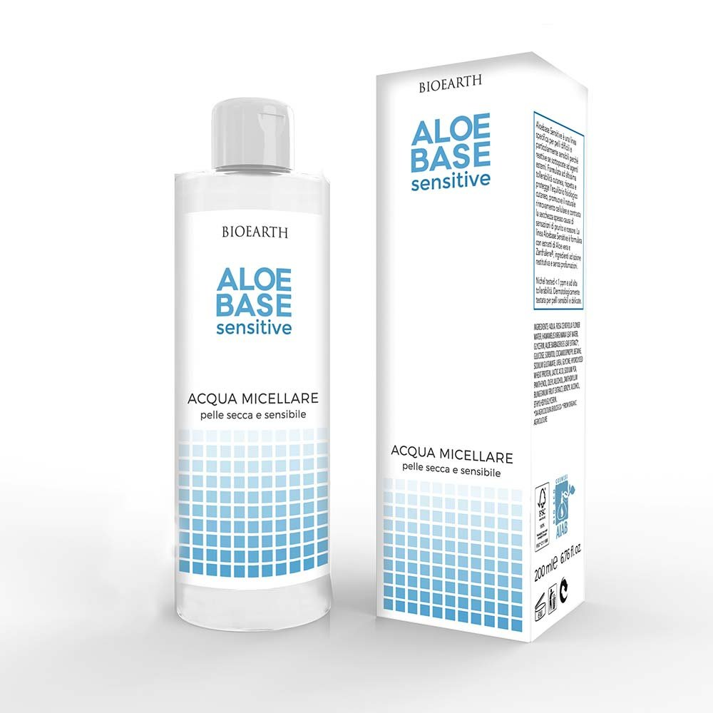 AloeBase Sensitive Acqua Micellare Pelle Sensibile