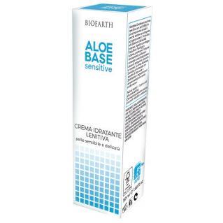 AloeBase Sensitive Crema viso idratante lenitiva con Zanthelene