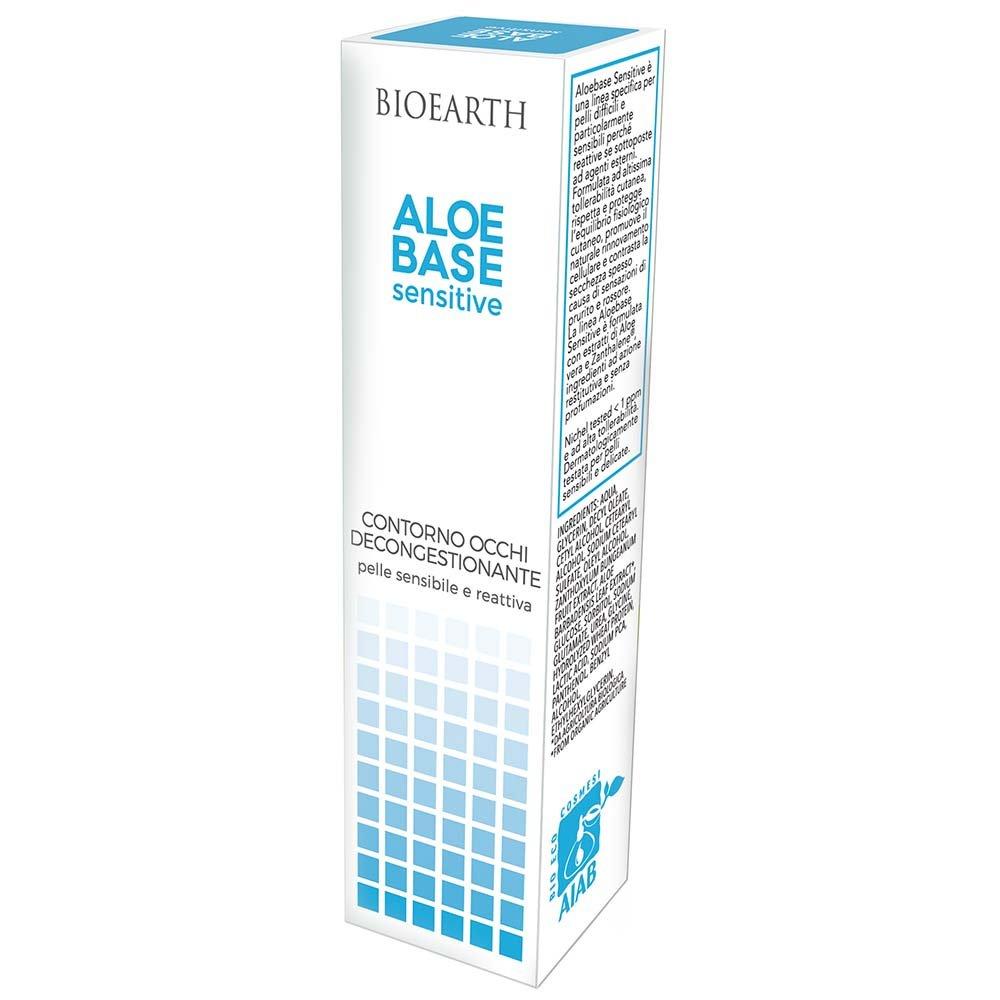 AloeBase Sensitive Decongesting eye contour cream for sensitive skin