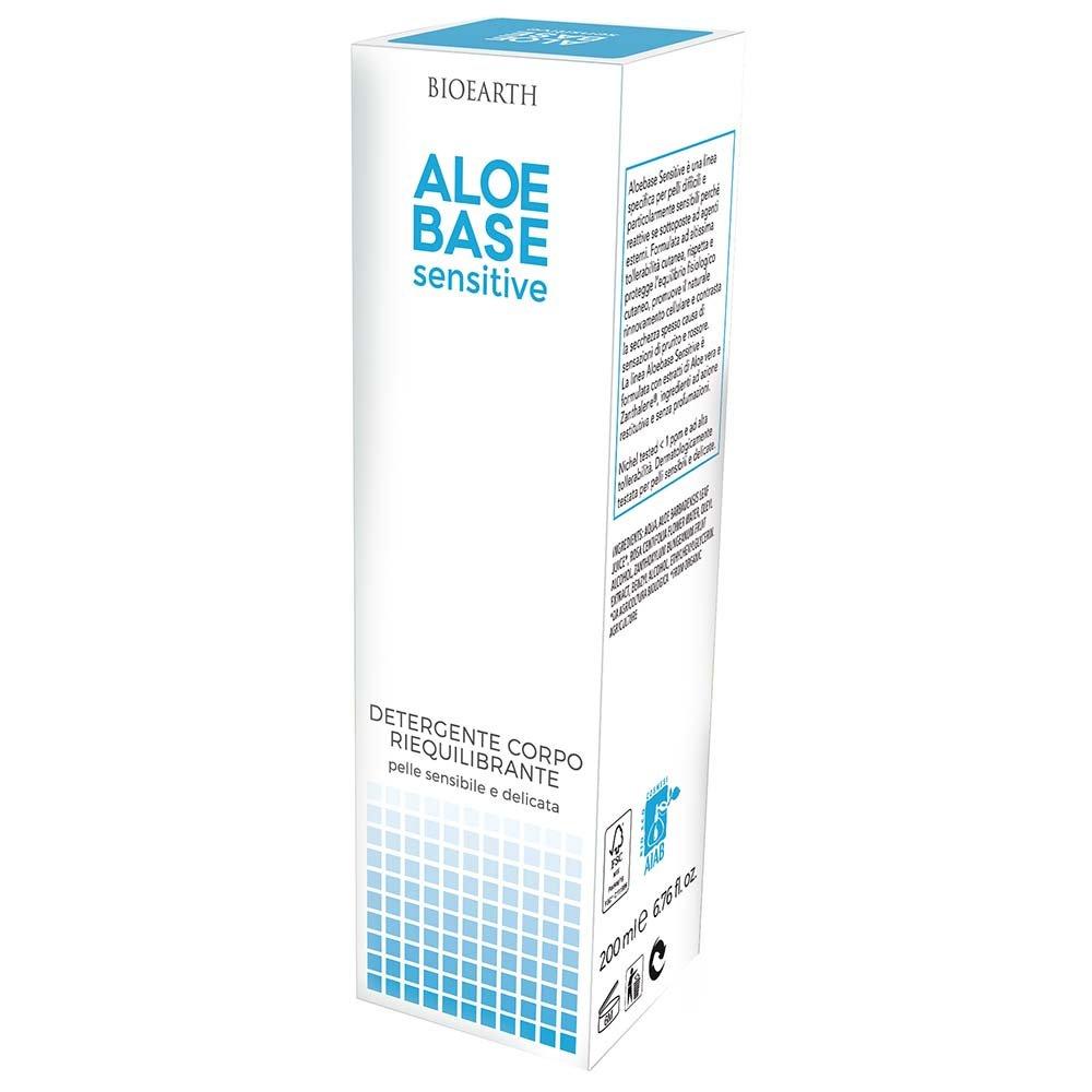 AloeBase Sensitive Detergente Corpo Riequilibrante Pelle Sensibile
