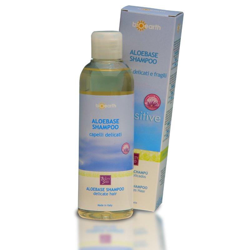 AloeBase Sensitive Shampoo Capelli delicati